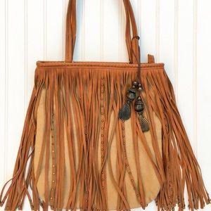 Handbags - Charming Charlie's fringe deadstock shoulder bag